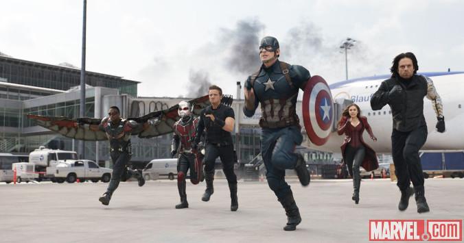 Kapitan Ameryka: Wojna bohaterów - TeamCap