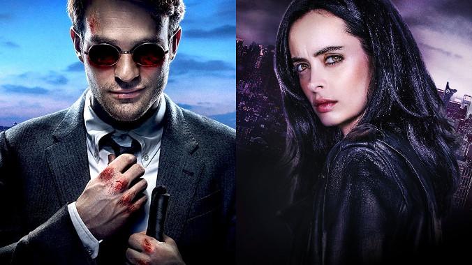 Daredevil i Jessica Jones