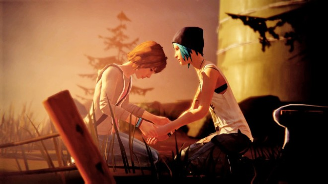 Life is Strange - Max i Chloe