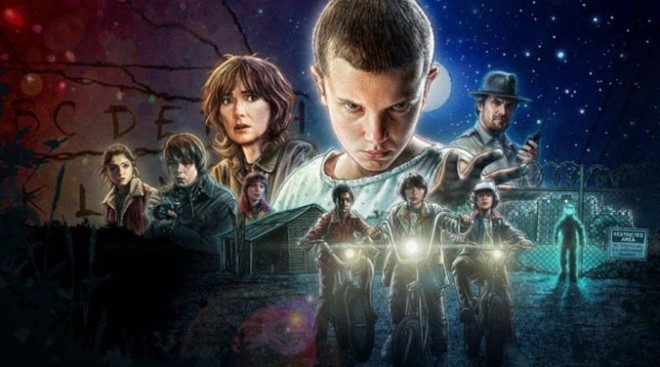 Stranger Things - Grafika promująca