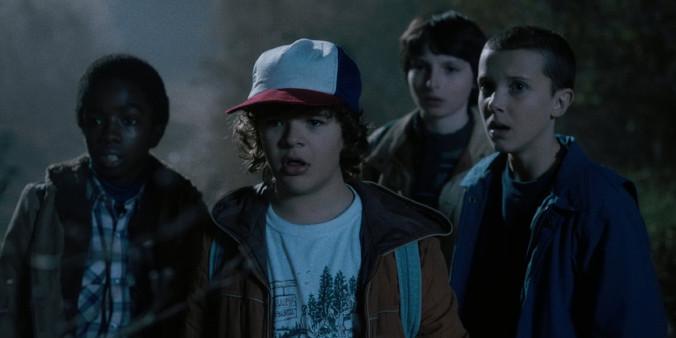 Stranger Things - Dwunastoletni bohaterowie