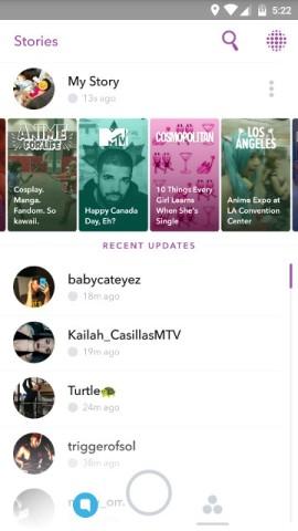 Snapchat - My Story