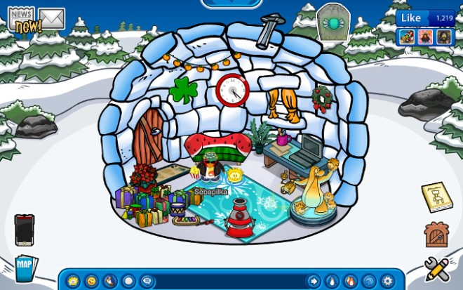 Club Penguin - Gra