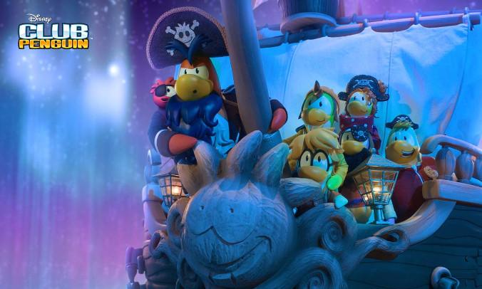 Club Penguin - Animacja
