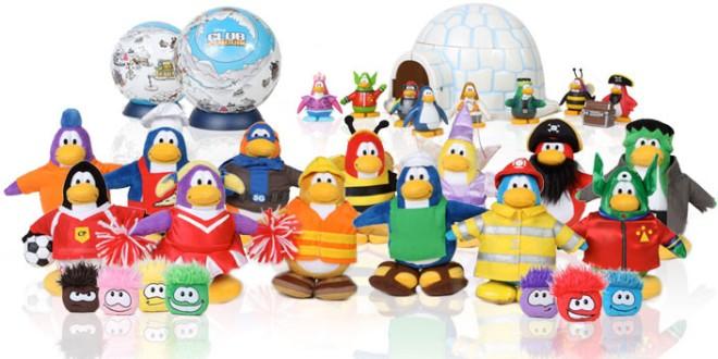 Club Penguin - Zabawki