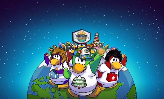 Club Penguin - Pomoc
