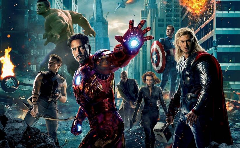 Nagłówek - Avengers