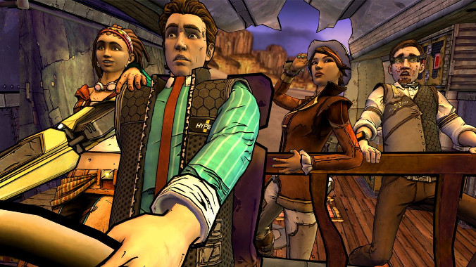Tales from the Borderlands - Akcja