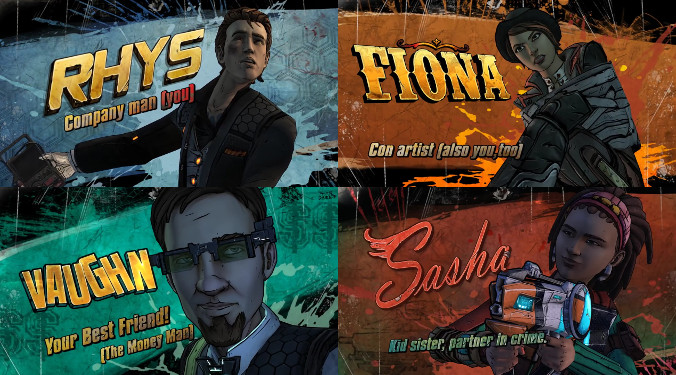 Tales from the Borderlands - Bohaterowie