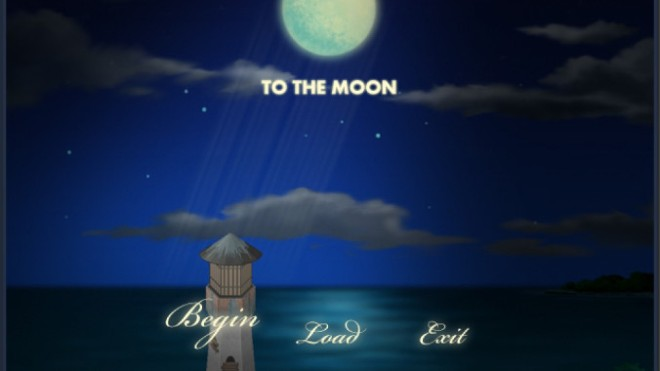 To the Moon - Okno startowe