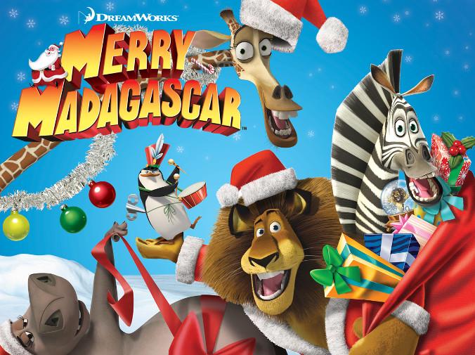 Animacje świąteczne - Madagwiazdka