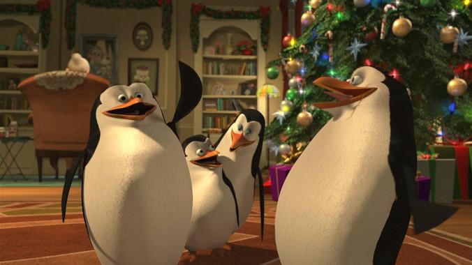 Animacje świąteczne - Pingwiny z Madagaskaru: Misja Świąteczna