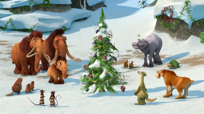 Animacje świąteczne - Epoka lodowcowa: Mamucia gwiazdka
