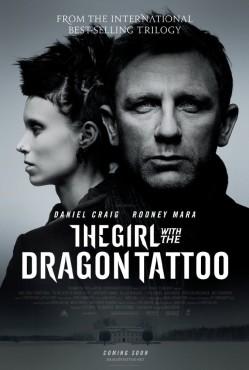 Dziewczyna z tatuażem - Plakat