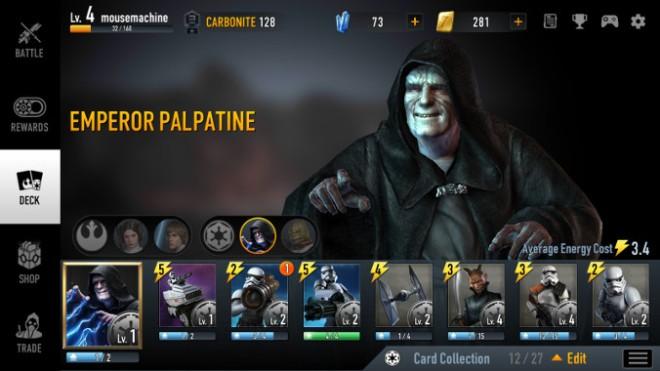 Styczeń 2017 - Star Wars: Force Arena