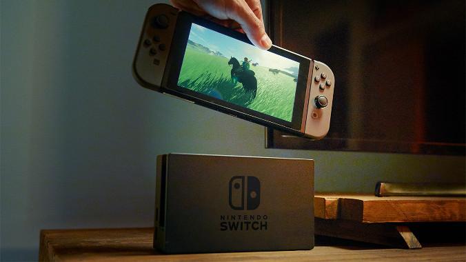 Styczeń 2017 - Nintendo Switch