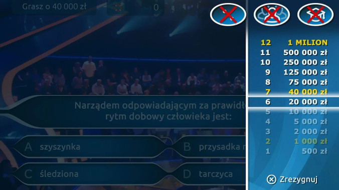 Luty 2017 - Milionerzy Quiz