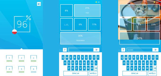 Aplikacje quizowe - 96% Quiz