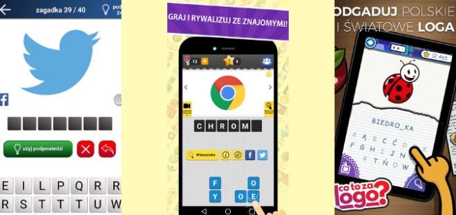 Aplikacje quizowe - Logo Quiz