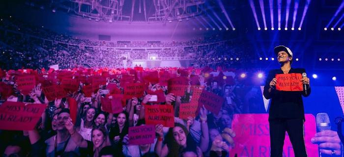 Maj 2017 - Bruno Mars w Polsce