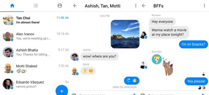 Maj 2017 - Messenger Lite