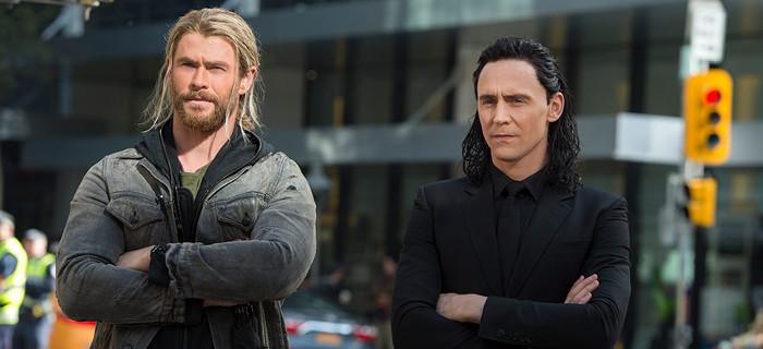 Thor: Ragnarok - Thor i Loki