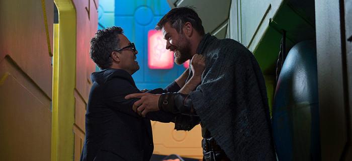 Thor: Ragnarok - Thor i Banner