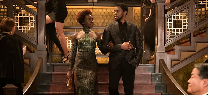 Czarna Pantera - T'Challa i Okoye