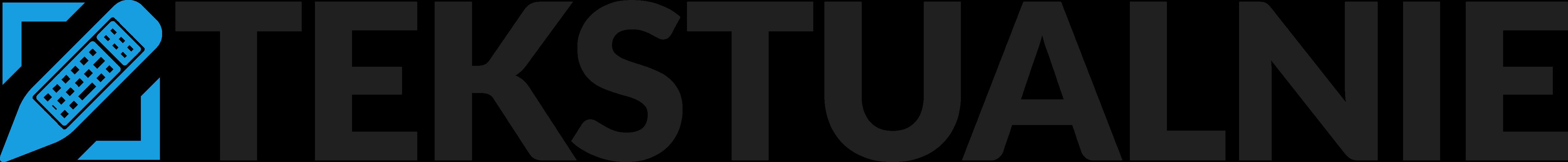 Tekstualnie - Logotyp - N - Czarny 2